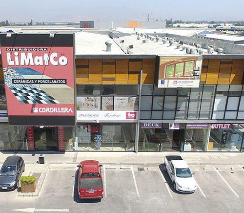Vista Frontis : Casa Nor-Oriente: Centro Comercial y Empresarial