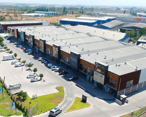 Vista Aerea Casa Nor-Oriente: Centro Comercial y Empresarial